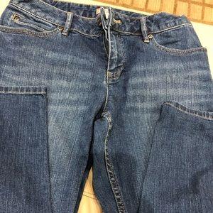 J Jill Denim Smooth Fit Slim Ankle Stretch Jeans
